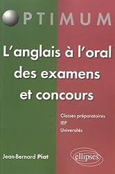 L'Anglais à l'Oral des Examens et Concours