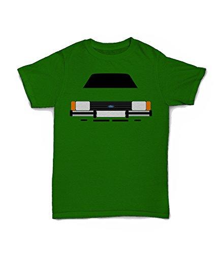 Ford Cortina Mk5 80s Car T-shirt, green