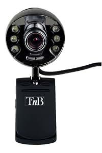 T'nB IMWB035214 Moonpix Webcam 350K vision nocturne+micro Noir acier