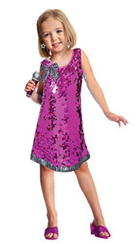 Amscan-997599-Set-de-Dguisement-de-Pop-Star-Fille-3-6-ans