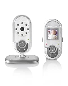Binatone Motorola MBP20 Video Baby Monitor 1.5 inch Screen 1.8Hz DECT Technology (Silver)