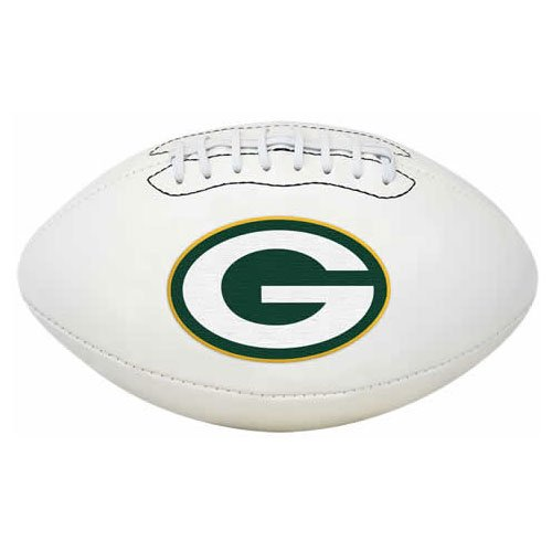 NFL Signature Series Full Regulation-Size Football, Green Bay Packers