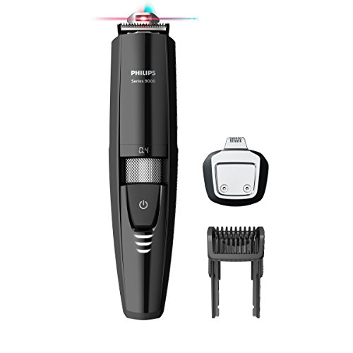 Philips Series 9000 Laser Guided Beard & Stubble Trimmer for Precise Symmetrical Beards - BT9299/13 Best Price and Cheapest
