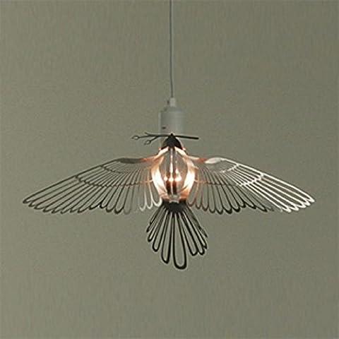 YUPX Lampadario Elegante creative den bar ristorante bar in acciaio inox di volo di uccelli, pendente lampadari Lampada sospensione da soffitto