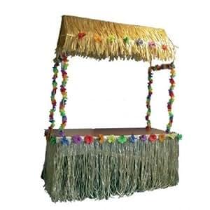 Tiki Hut Aloha Hawaiian themed Decorations & Accessories for Party or Celebration