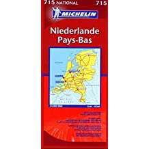 Michelin Karten, Bl.715 : Niederlande; Netherlands; Pay-Bas
