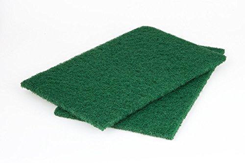 Wolfcraft 5898000 Lot de 2 Patins fibre abrasive gros grain 280