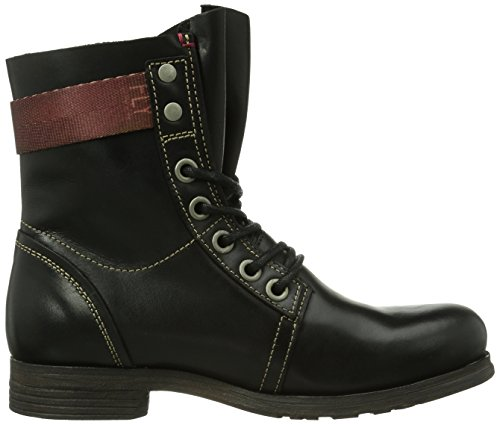 Fly London Stay Rug, Stivali da Moto, da Donna Nero (Black)