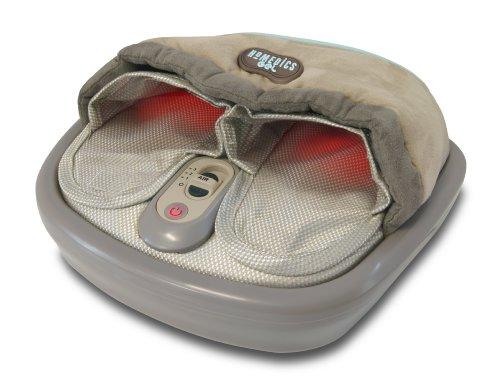 HoMedics Gel Shiatsu und Thai Fußmassagegerät mit Wärmefunktion