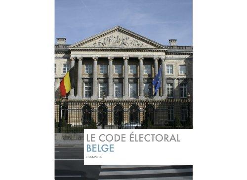 En ligne téléchargement gratuit Le code electoral Belge (BelgaLex) pdf ebook