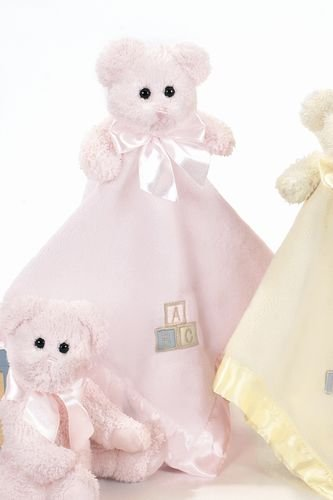 Bearington Baby FESTE UMARMUNGEN rosafarbene Sicherheits-Decke