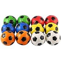 12 UNIDS Fútbol Estrés Alivio Esponja Bolas de Espuma Mano Fuerza Squeeze Ball Niños Adultos Ejercicio de Mano Bolas de Juguete Juguetes del Partido