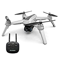 JJRC X5 FPV Drone with 1080P HD Camera Live Video, GPS Return Home Quadcopter with Brushless Motor & 90°Adjustable Camera,Drone for Adults,Follow Me, Flight Surround Me, Long Control Range (White)