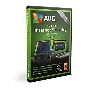 AVG Internet Security 2019 | Unbegrenzt | 1 Jahr