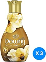 Downy Perfume Collection Concentrate Fabric Softener Feel Luxurious, 3 x 880ml