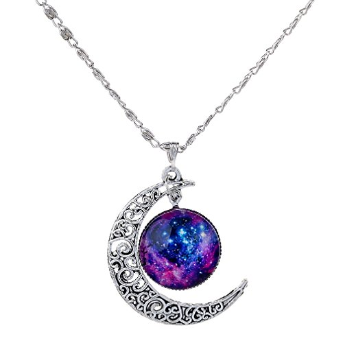 yazilind-crescent-moon-galaxy-universe-glass-pendant-necklace-women-jewelry-2