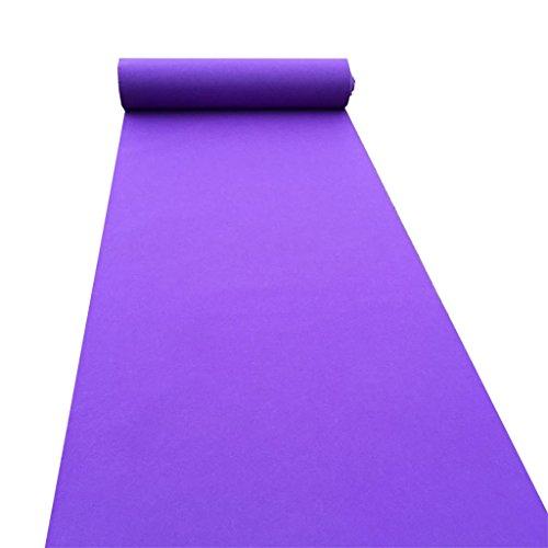 (Hochzeit Teppich Für Hotel Opening Party Themen-Events Ausstellung Einmalige Rutschfeste Über 2mm Dicke Violet Teppich)