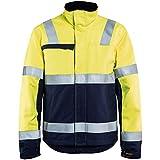 Blakläder 406915143389XL Veste d'Hiver Multinormes Taille, Jaune/Bleu Marine, XL