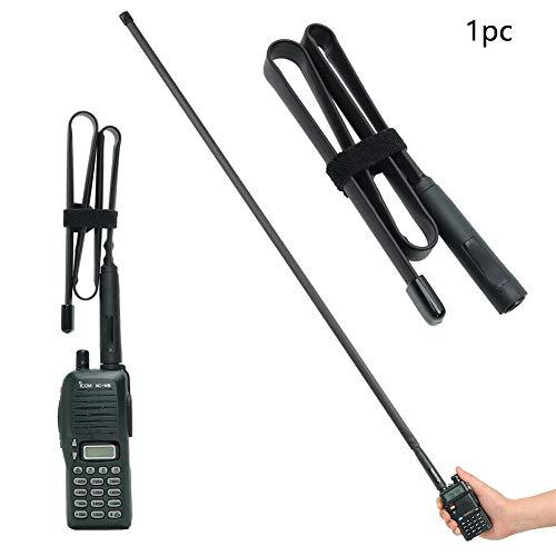 szdc88 CS Tactical Antenna, Dual Band Tactical Antenna Erweitern Sie das SMA-Frauenradio für Baofeng BF-888S UV-5R / 82 für Outdoor und Camping