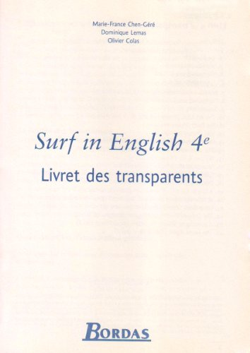 TRANSP SURF IN ENGLISH 4E 2002