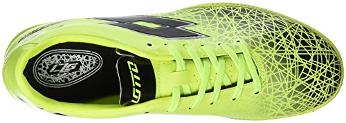 Lotto Lzg Viii 700 TF, Chaussures de Foot Homme Multicolore - Amarillo / Negro (Ylw Saf / Blk)