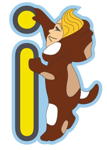 Imagen 1 de Bebemon BB088 - Letra decorativa, I amarillo