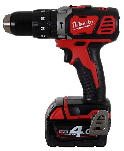 Milwaukee 4933443520 - M 18 bpd-402c taladro percutor 18v 4,0 ah litio 2 vel. 60 nm