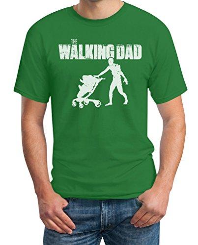 The Walking DAD - Das perfekte Vatertagsgeschenk T-Shirt Grün