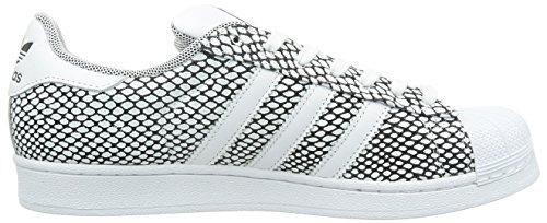 adidas Superstar Snake Pack, Baskets homme blanc/noir