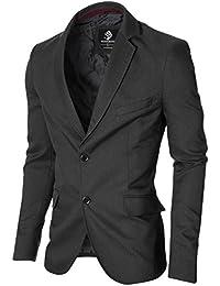 MODERNO - Slim Fit Veste Homme Blazer (MOD14514B)