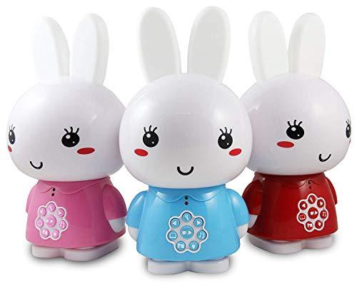 Alilo Honey Bunny (Blau) Edutainment für Ihr Kind Nachttischlampe LED + ausgesuchte Geschichten und Lieder