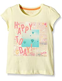Esprit 046ee7k005 - Happy To Day Ts - T-shirt - Fille