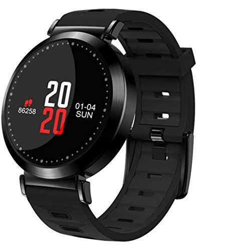 ELEGENCE-Z Reloj Elegante, Pulsera de los Deportes del Paso de la presión Arterial del Ritmo cardíaco de Bluetooth 4.0 con el Monitor del Ritmo cardíaco Android 4.4 / iOS 8.0 Rojo