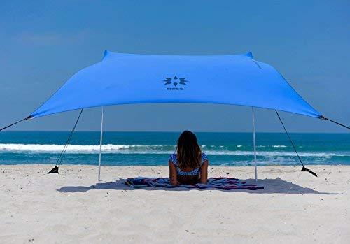"""Sand Anchor-Tenda da spiaggia con tettuccio parasole, 82\"""" x 80\"""" per portatile, diversi colori"""