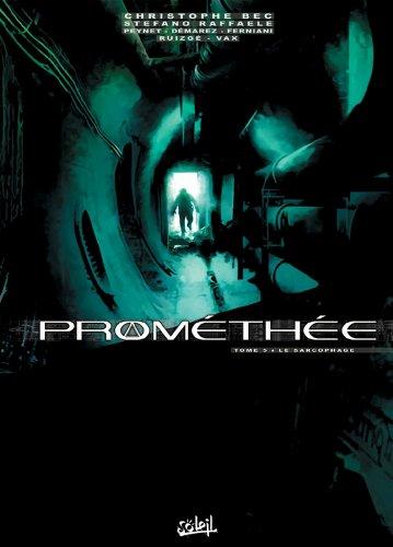 Prométhée T05 : Le Sarcophage par Christophe Bec