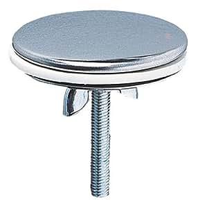 Wirquin 39252004 Cache-trou en laiton chrome Diamètre 43 mm