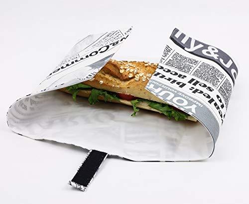 Wiederverwendbare Tasche. Wasserdichte Umweltfreundliche Lösungen. Vegane Tasche. Picknick Tasche