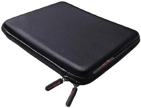 Netbooktasche / Netbook-Tasche Skeen Schutzhülle Hardcase Carbon in Schwarz 9