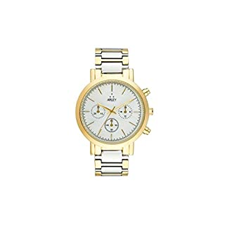 Arley Unisex Adult Analogue Quartz Watch with Stainless Steel Strap ARL604