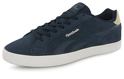 Reebok Royal Complete 2ls, Sneaker a Collo Basso Uomo Blu (Collegiate Navy/Smoky Indigo/Stucco/White/Sil)