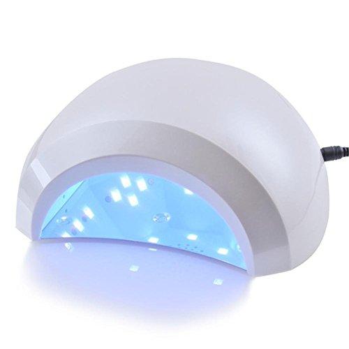 GAIHU 48W LED UV Lampe Nail Nail Trockner Light Machine für die Aushärtung Gele Nagellack Nail Art Manicure Tools mit Auto Sensor, Timer Einstellung (Timer-schalter Trockner)