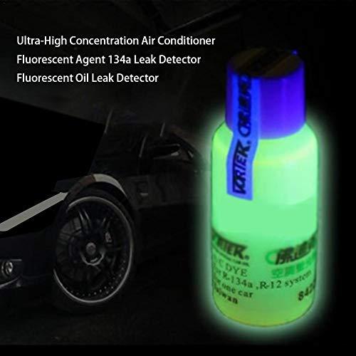 Strumento per rilevatore di perdite di sistema condizionatore d'aria automatico, rilevatore di perdite fluorescenti Rilevatore di perdite di olio fluorescente per frigorifero, condizionatore d'
