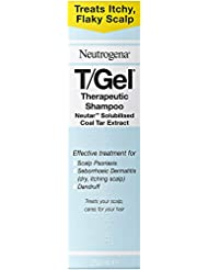 Neutrogena T/Gel Therapeutic Shampoo – Shampoo For Seborrhoeic Dermatitis, Scalp Psoriasis and Dandruff - 250ml