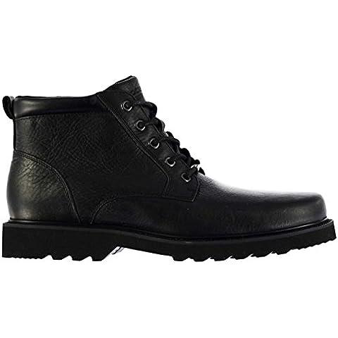 Rockport Hombre Northfield Botas Con Cordones Impermeable Cuero Tobillo Zapatos