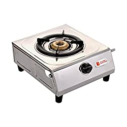 Luxmi Super Stainless Steel 1 Burner Gas Stoves.
