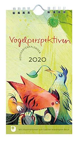 Vogelperspektiven Postkartenkalender 2020