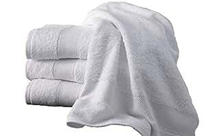 Serviette 800gr/m² couleur BEIGE 80x147cm 100% coton Egyptien en coton peigné ultra douce BEIGE