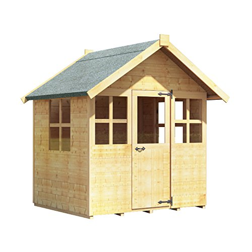 4x4 BillyOh Bunny Max Childrens Wooden Playhouse Outdoor Playhouse 4ft x 4ft