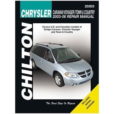 Chrysler Caravan, Voyager, Town & Country Chilton Repair Manual (2003-2007) by Chilton