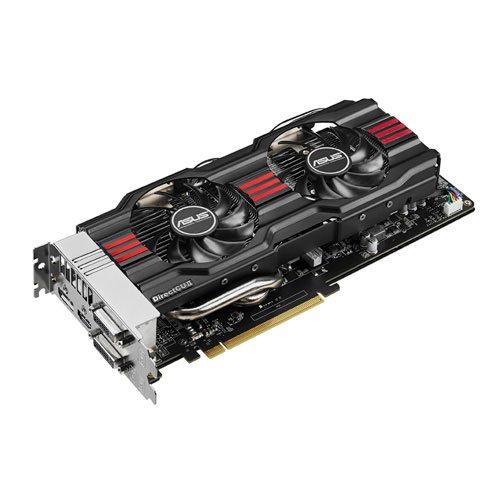 Price comparison product image Asus GTX 770 Nvidia GeForce DirectCU II OC 2GB GDDR5 Graphics Card (PCI Express 3.0, HDMI, DVI-I, DVI-D, Display Port, 256 Bit, 3D Vision Ready, GPU Boost 2.0)